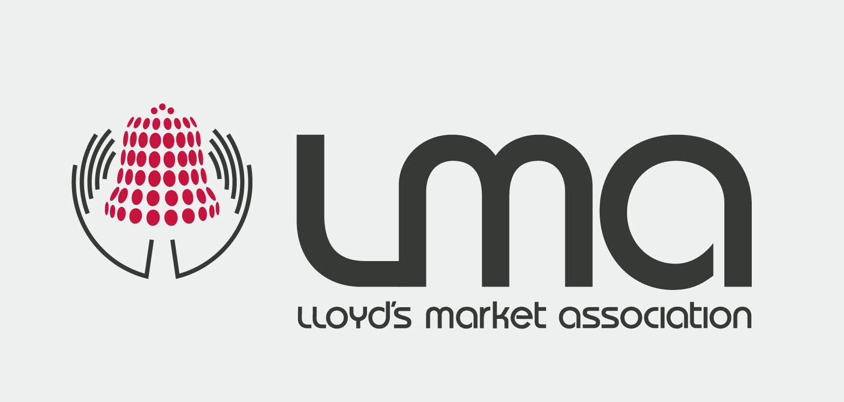 LMA, Branding and design for insurance, logo design