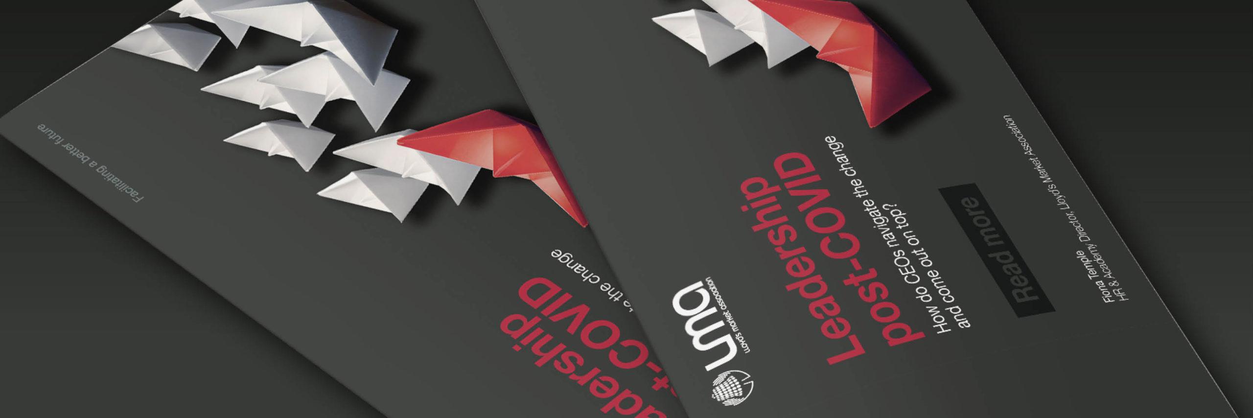 Lloyd's Market Association branding, Branding and design for insurance, brochure design